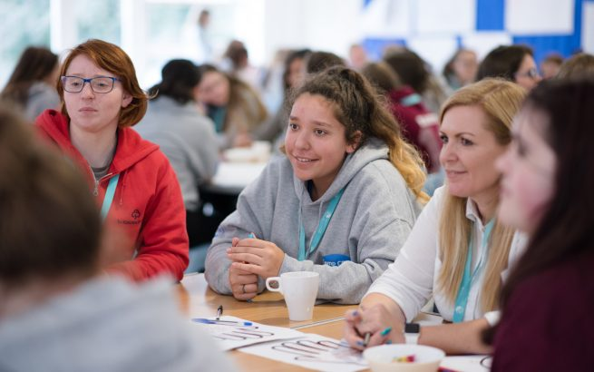 Girlguiding Inspire, women, young women, Scotland